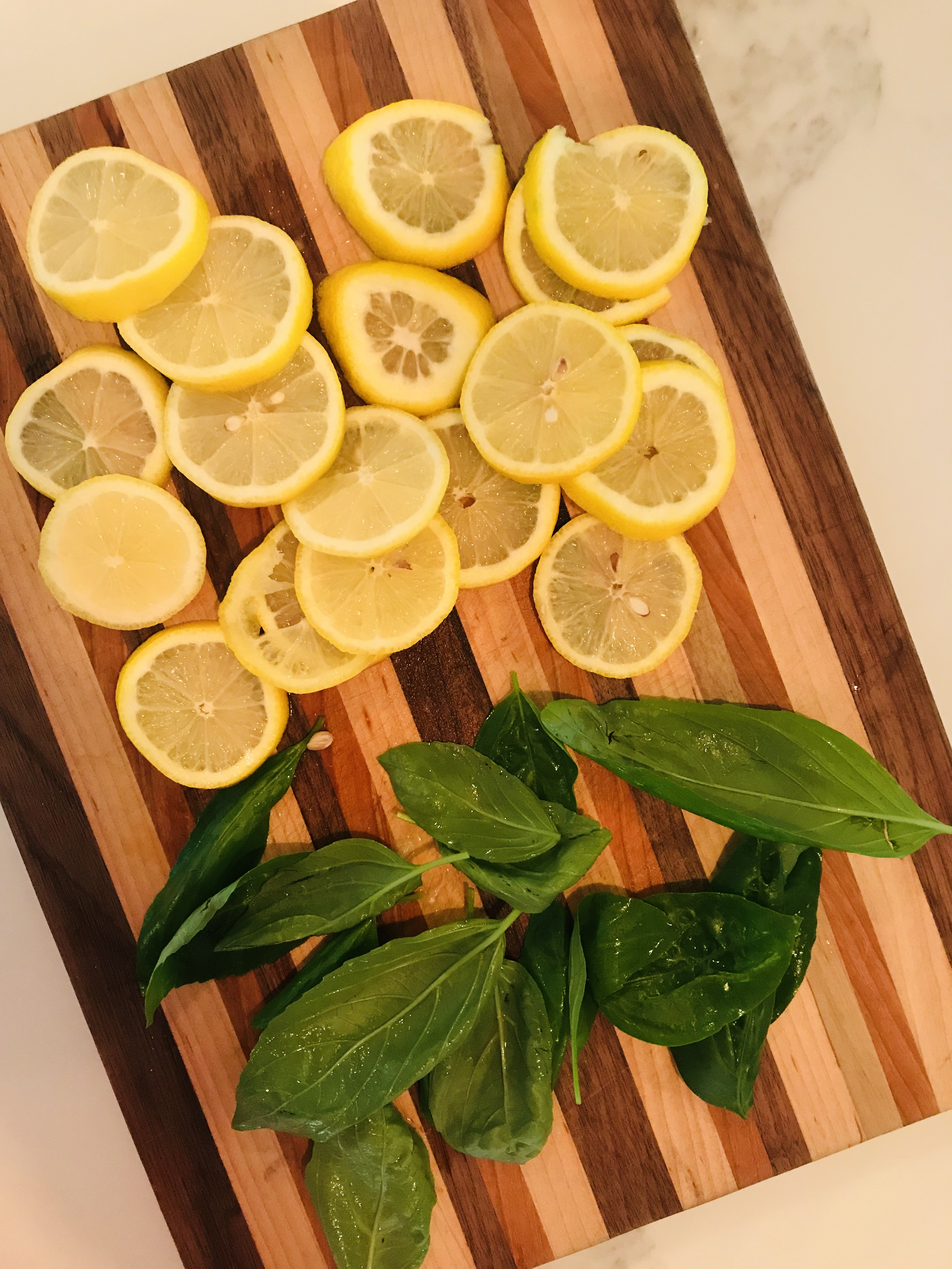 Basil Vodka Lemonade