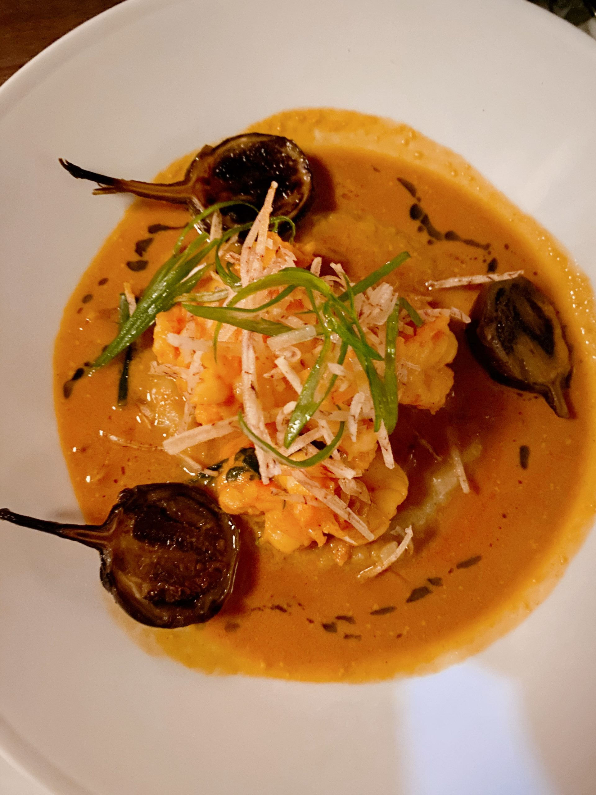 Service Bar Shrimp and Grits