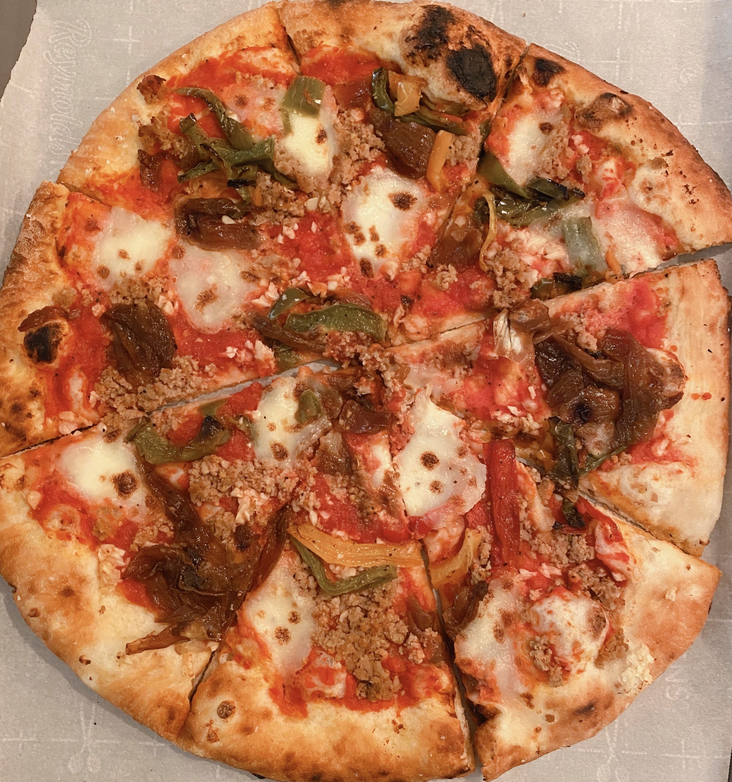 Carry-Out (the new norm) from Natalie's Coal-Fired Pizza